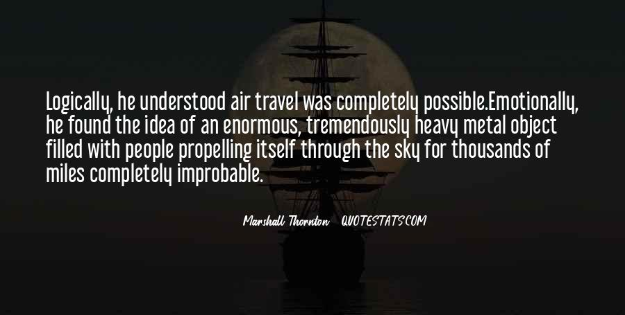 Marshall Thornton Quotes #347470