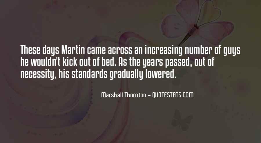 Marshall Thornton Quotes #353662