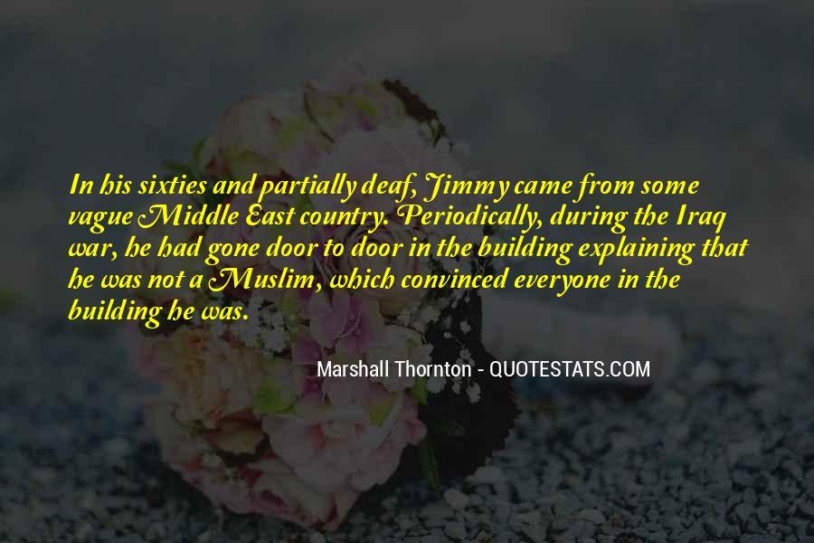 Marshall Thornton Quotes #505695