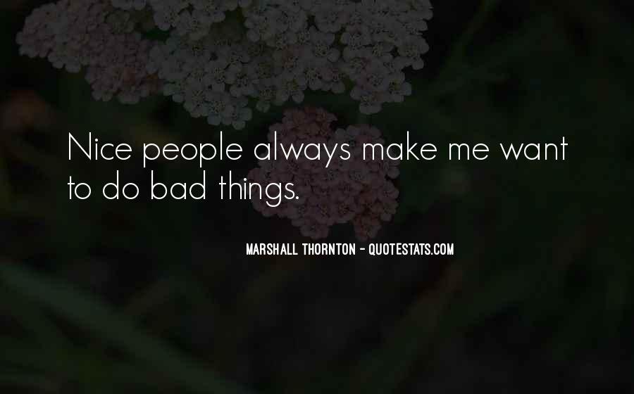 Marshall Thornton Quotes #566228