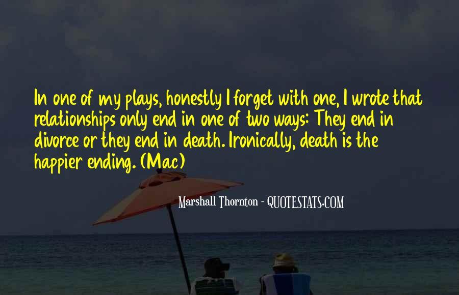 Marshall Thornton Quotes #740259
