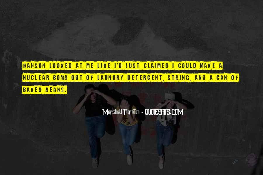 Marshall Thornton Quotes #984381
