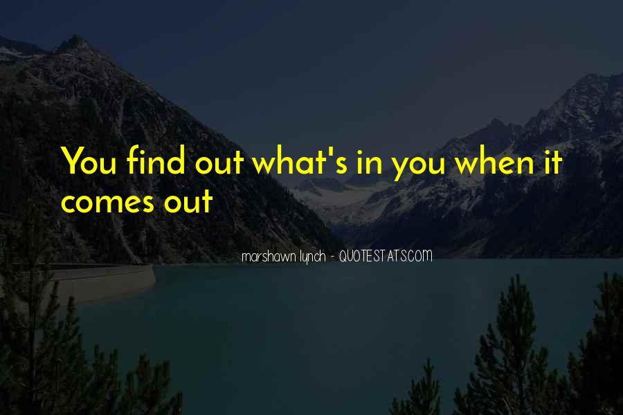 Marshawn Lynch Quotes #1443758