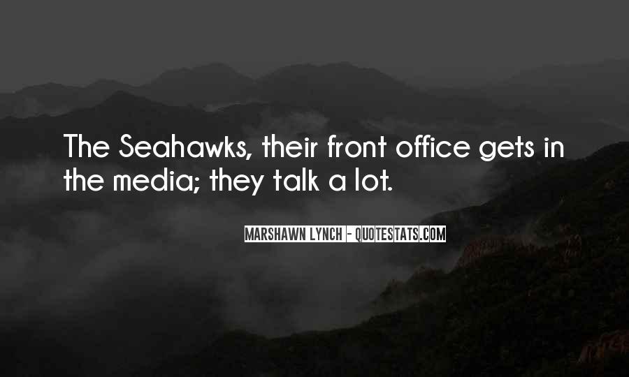 Marshawn Lynch Quotes #1508019