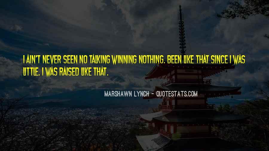 Marshawn Lynch Quotes #595898