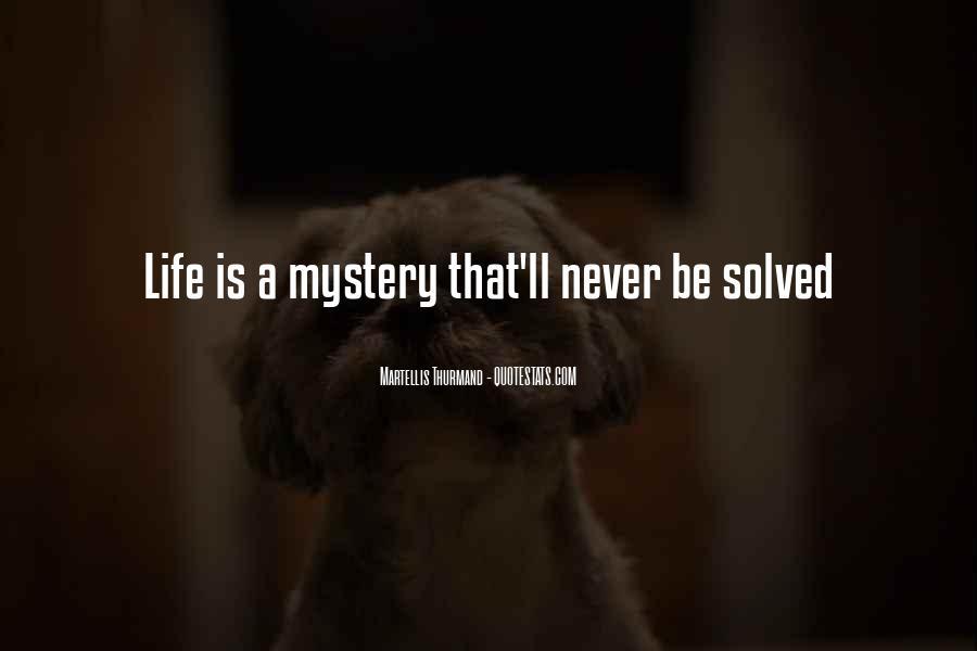 Martellis Thurmand Quotes #1752058