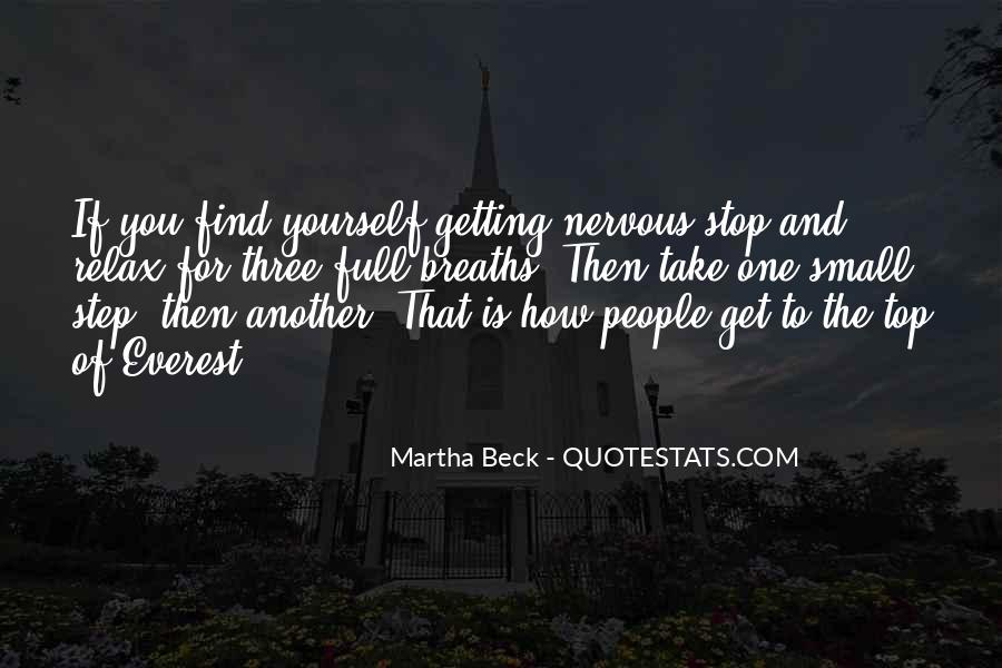Martha Beck Quotes #1040823