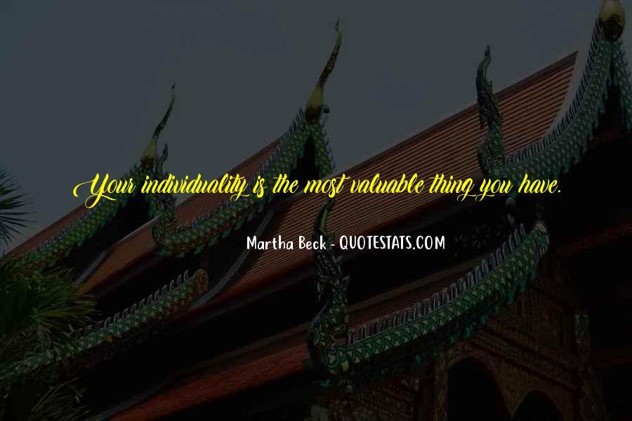 Martha Beck Quotes #1200494