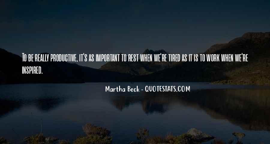 Martha Beck Quotes #1646467