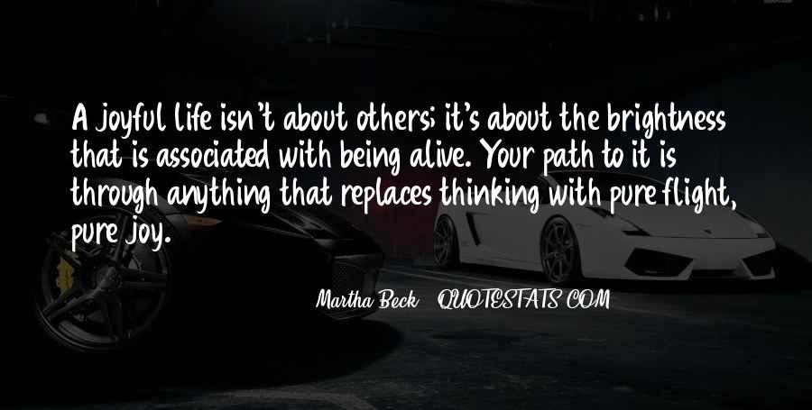 Martha Beck Quotes #1851065