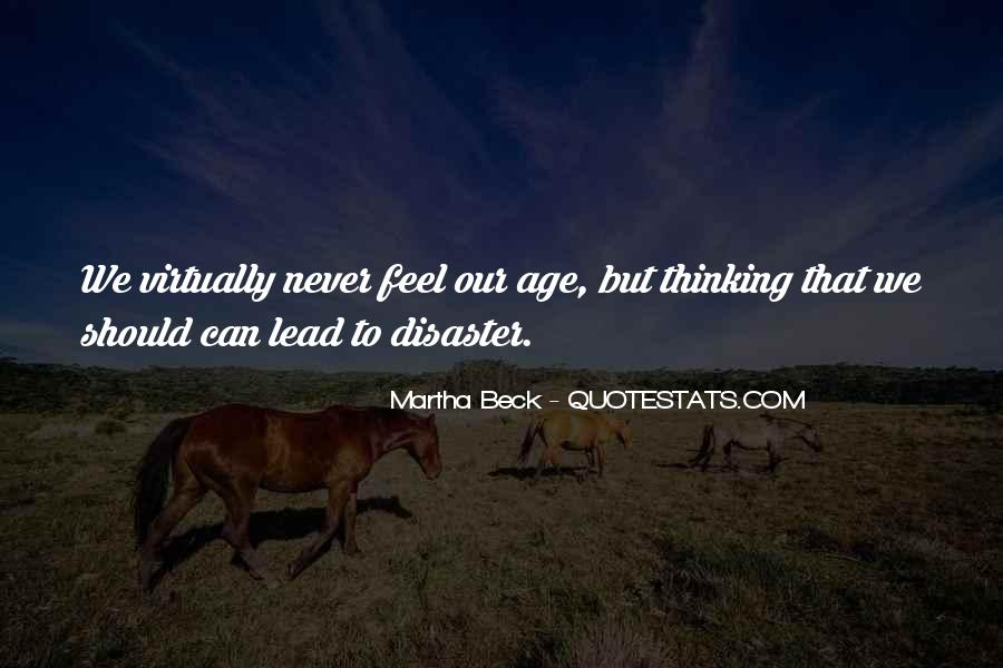 Martha Beck Quotes #223925