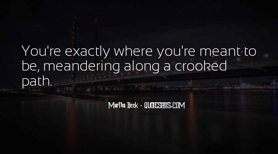 Martha Beck Quotes #269413