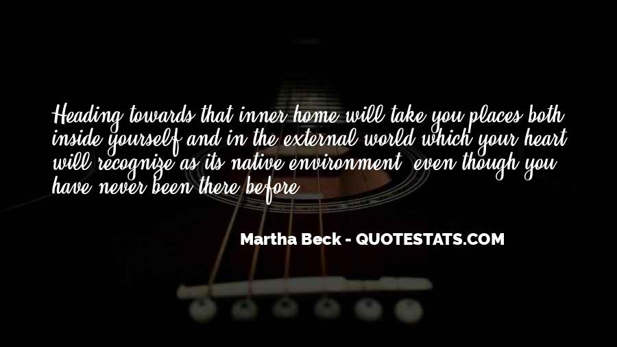Martha Beck Quotes #383387