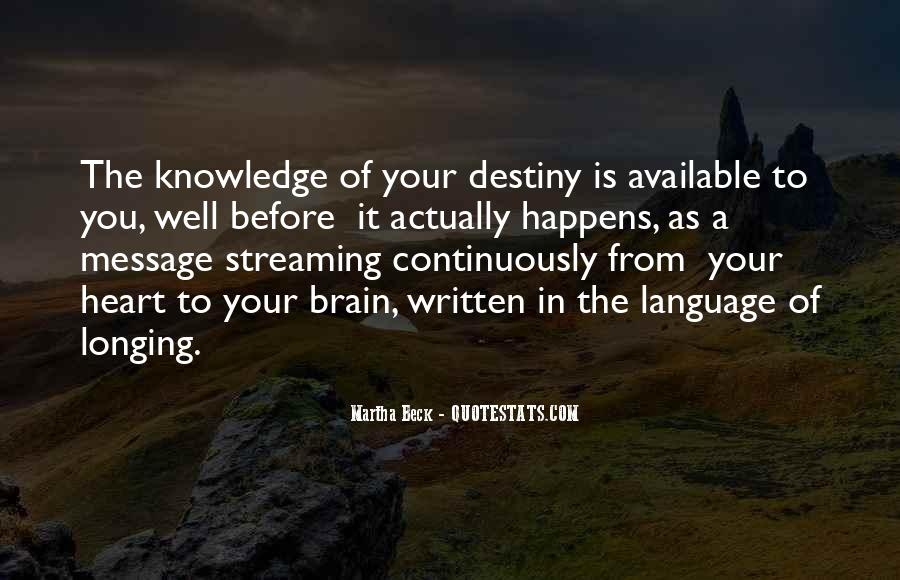 Martha Beck Quotes #506141