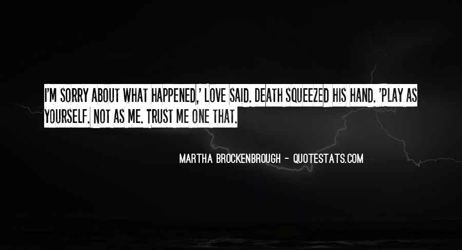Martha Brockenbrough Quotes #26621