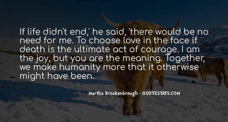 Martha Brockenbrough Quotes #798075