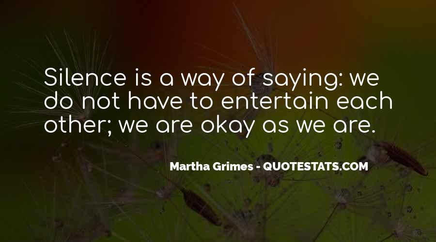 Martha Grimes Quotes #1010260