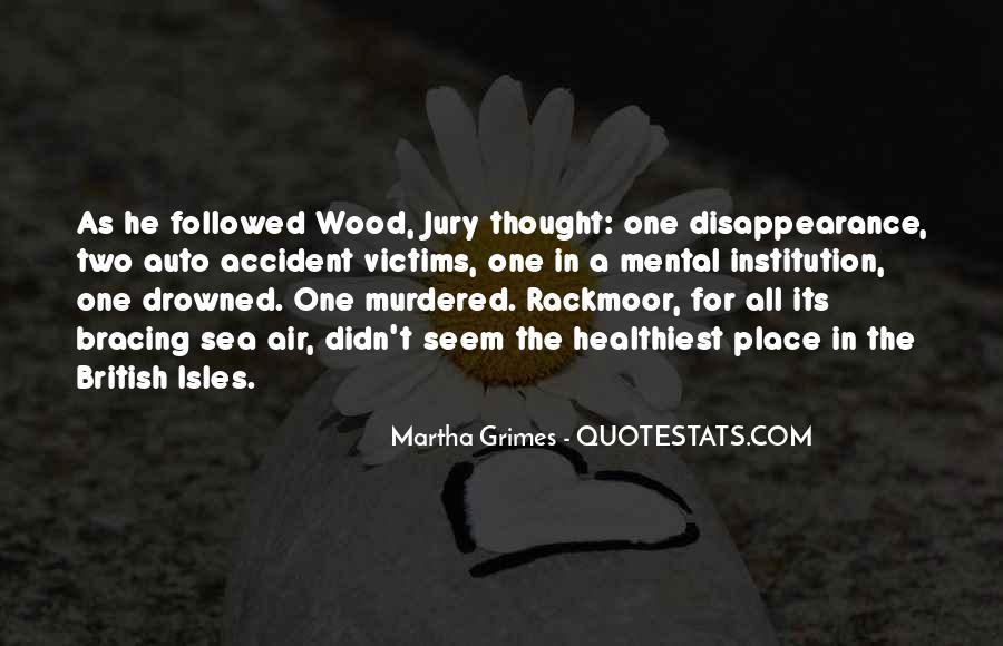 Martha Grimes Quotes #632296