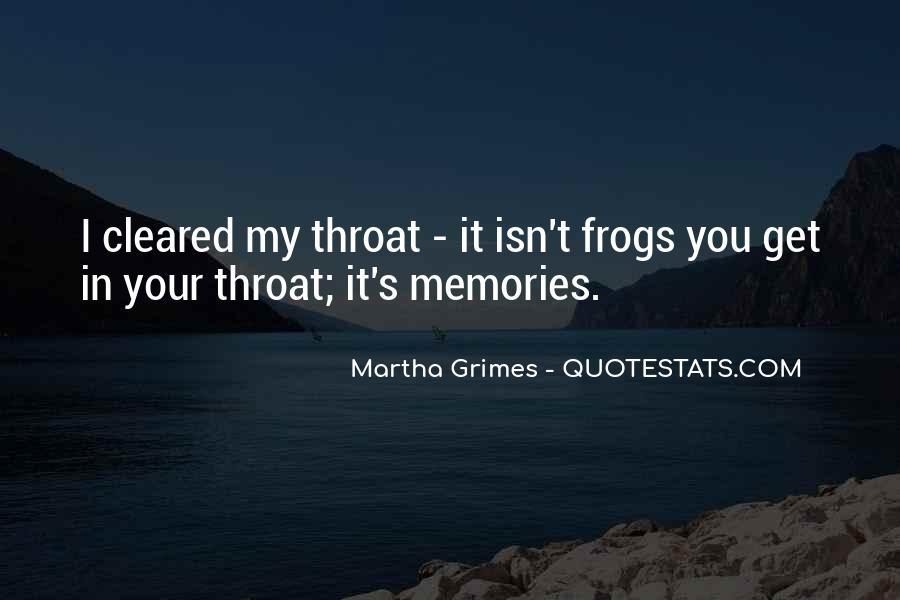 Martha Grimes Quotes #665912