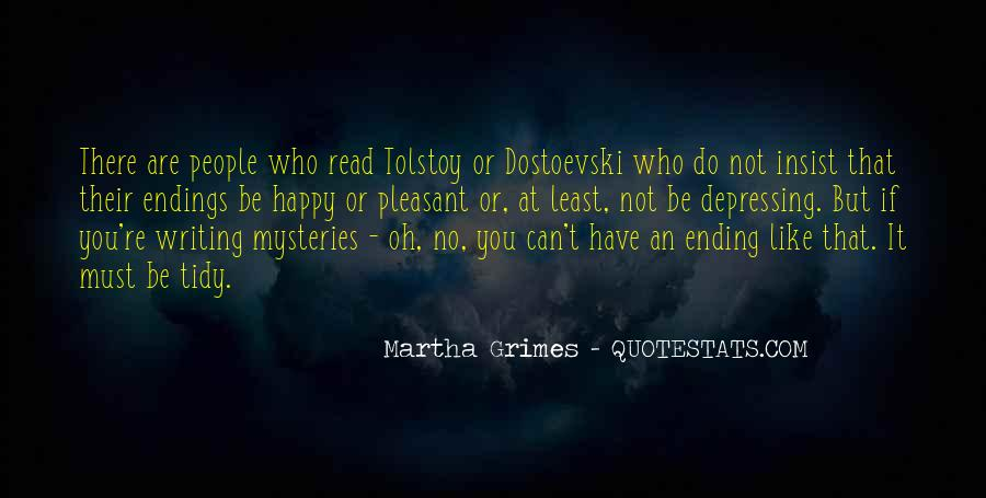 Martha Grimes Quotes #69557