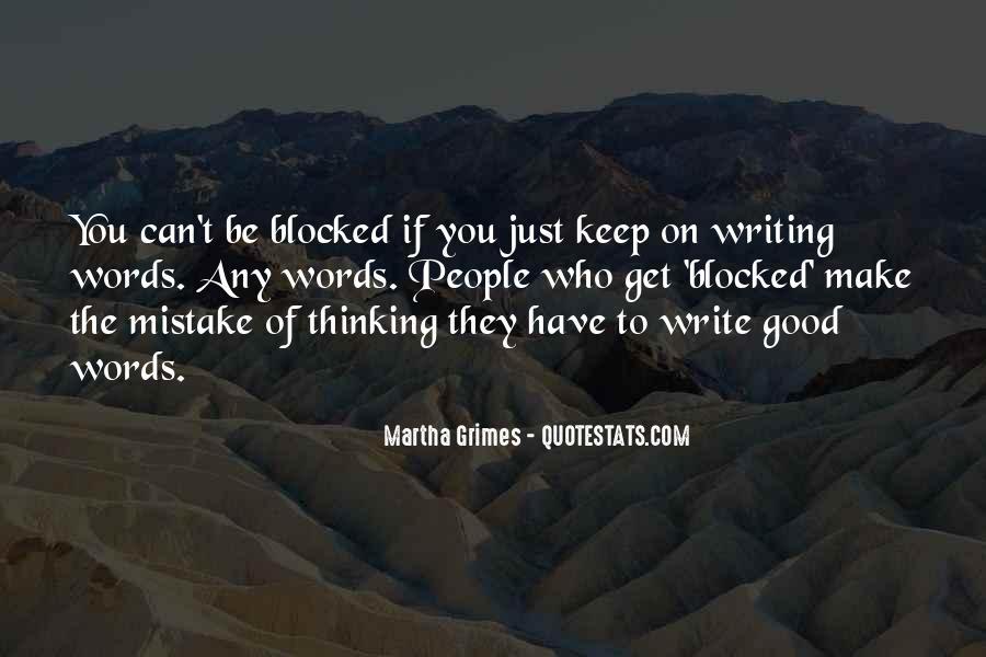 Martha Grimes Quotes #747542