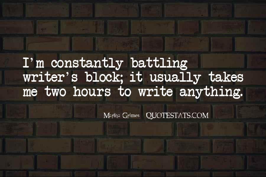 Martha Grimes Quotes #910548