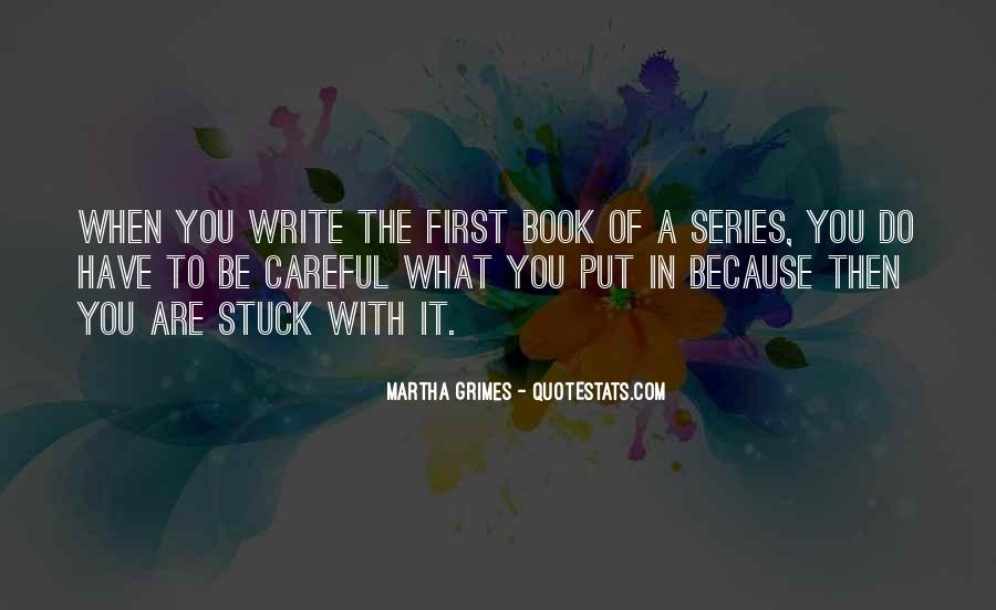 Martha Grimes Quotes #928252