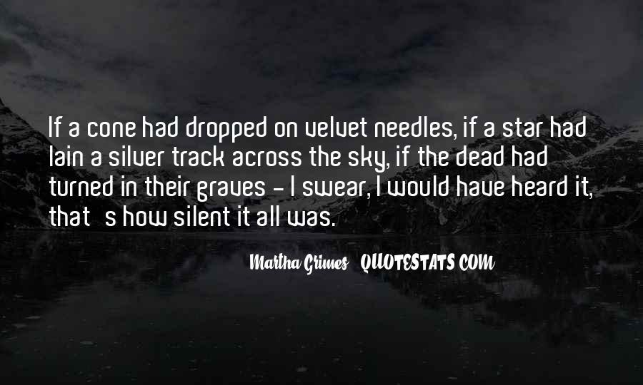 Martha Grimes Quotes #945296