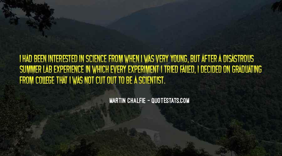 Martin Chalfie Quotes #88172