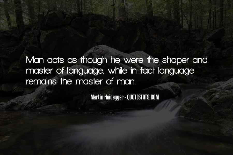 Martin Heidegger Quotes #1060354