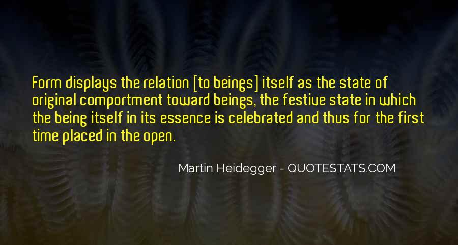Martin Heidegger Quotes #1085183