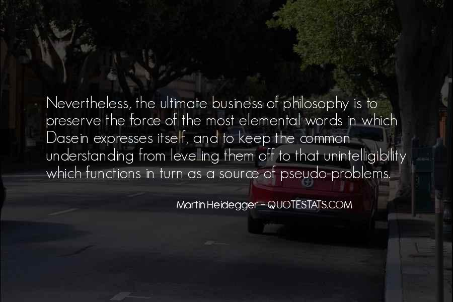 Martin Heidegger Quotes #111042