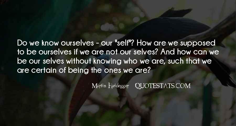 Martin Heidegger Quotes #1207828