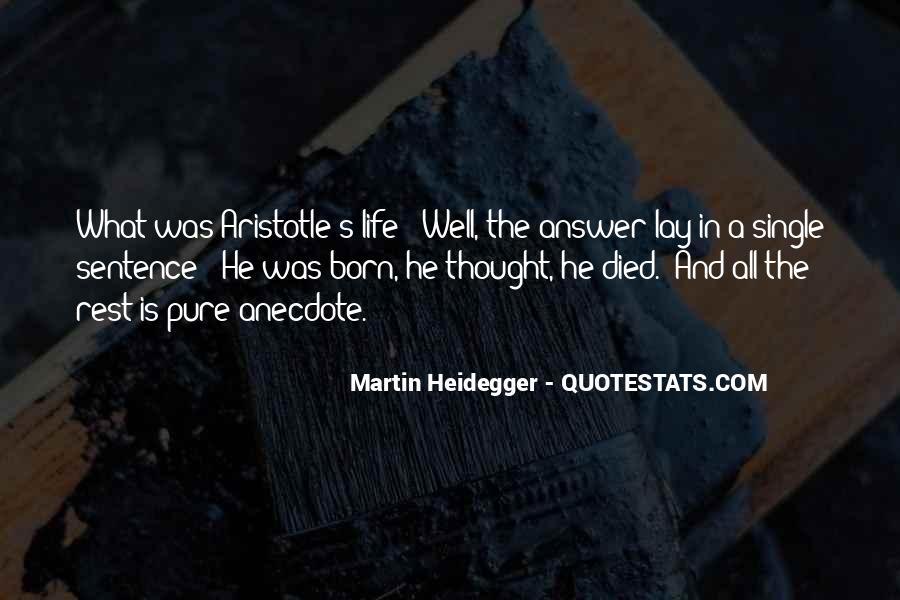 Martin Heidegger Quotes #1253596