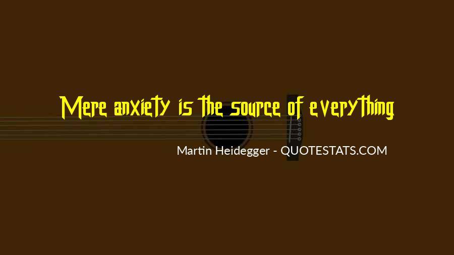 Martin Heidegger Quotes #144313