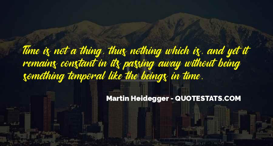 Martin Heidegger Quotes #162337