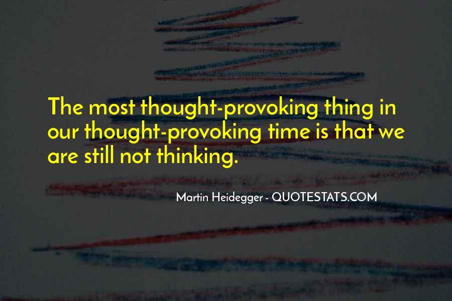 Martin Heidegger Quotes #190371