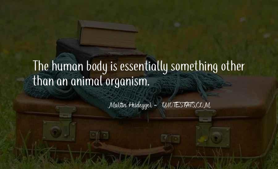 Martin Heidegger Quotes #203626