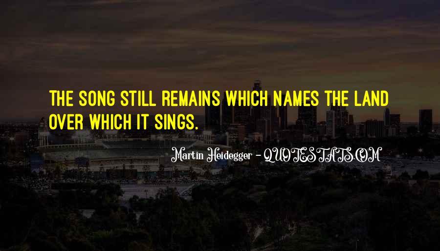 Martin Heidegger Quotes #20893