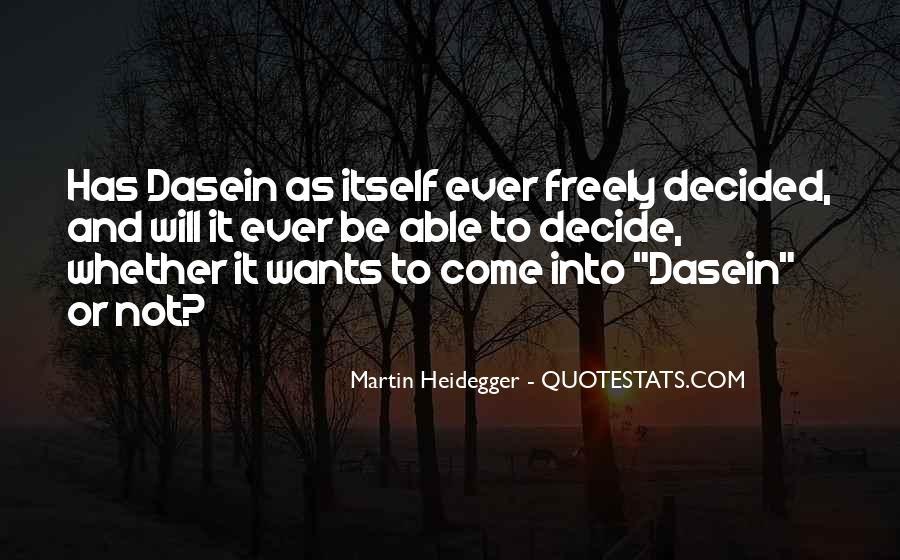 Martin Heidegger Quotes #234090