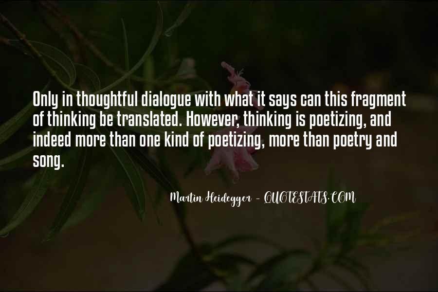 Martin Heidegger Quotes #375188