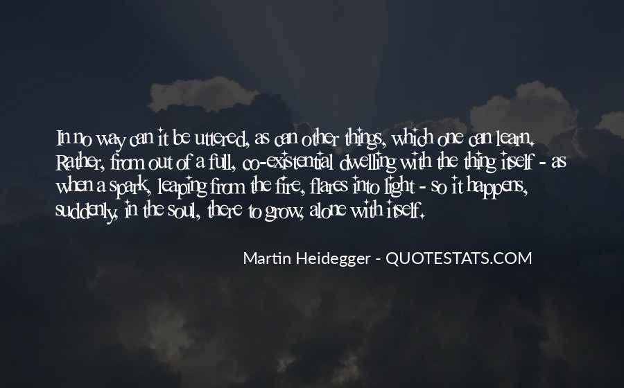 Martin Heidegger Quotes #383212