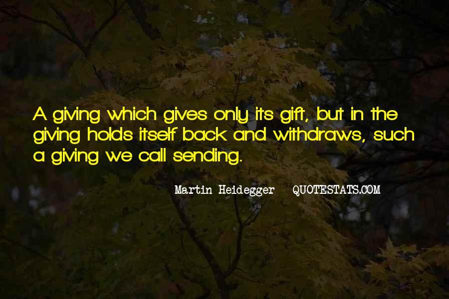 Martin Heidegger Quotes #395609