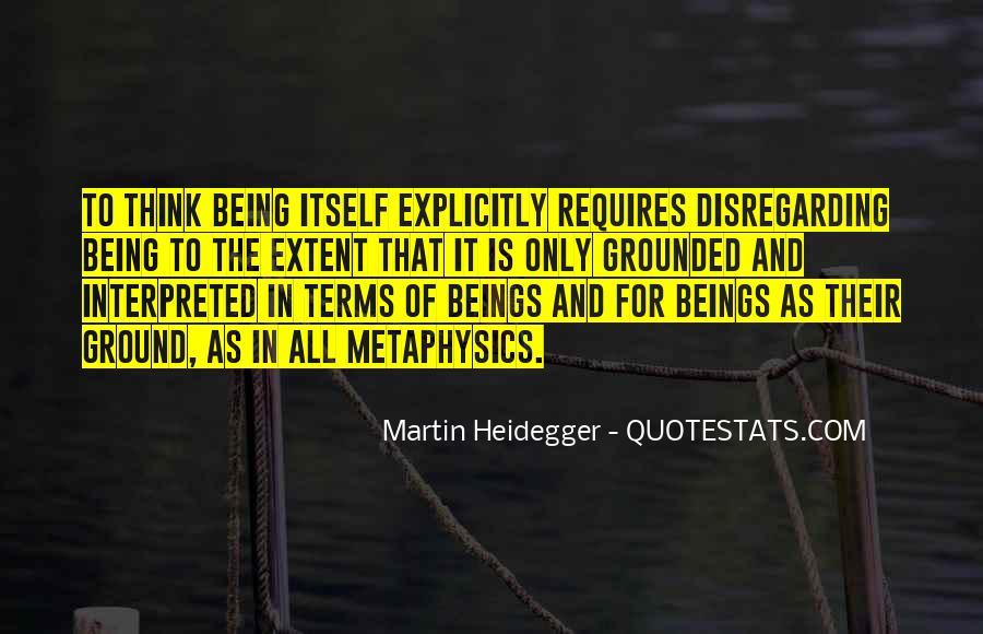 Martin Heidegger Quotes #489611