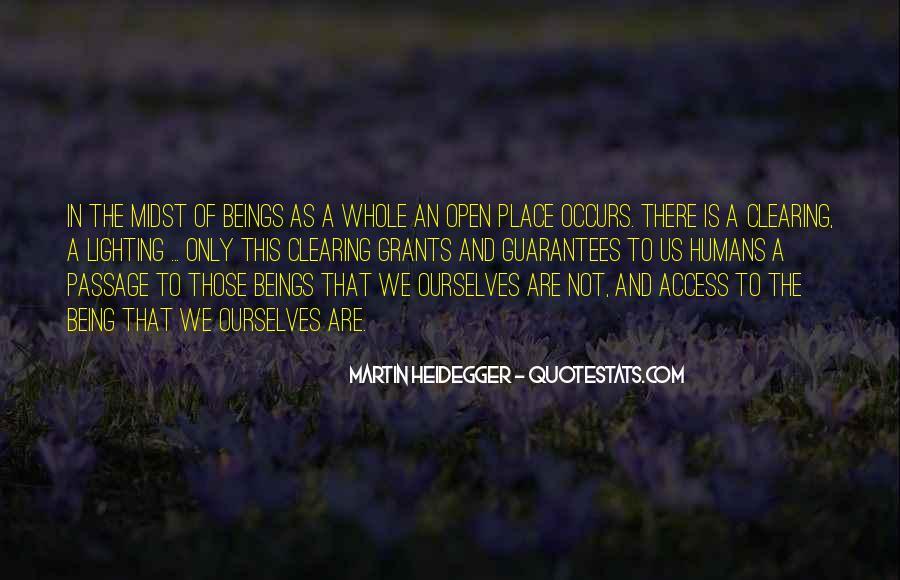 Martin Heidegger Quotes #495341