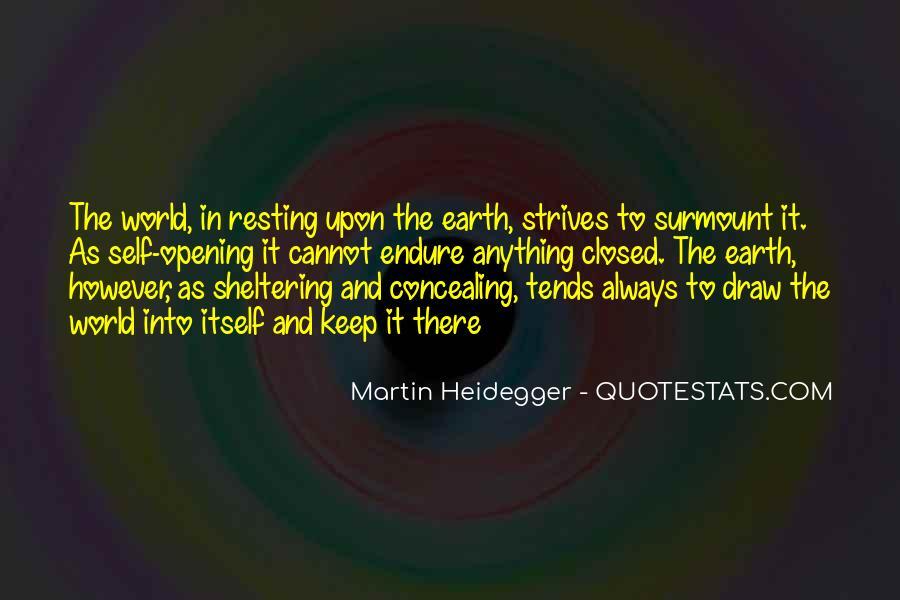 Martin Heidegger Quotes #501663
