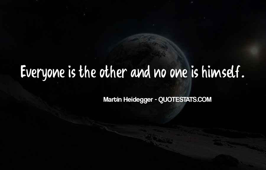 Martin Heidegger Quotes #60274