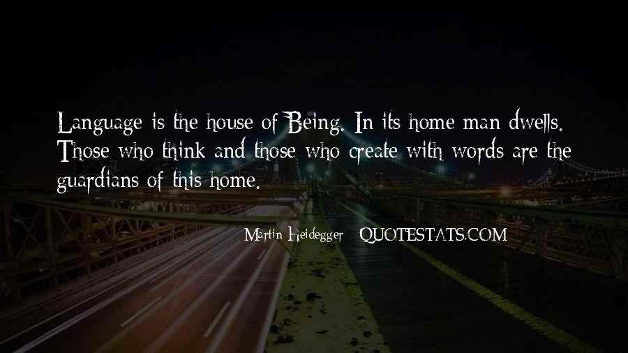Martin Heidegger Quotes #678564
