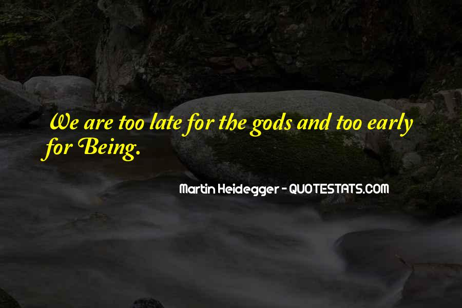 Martin Heidegger Quotes #813739