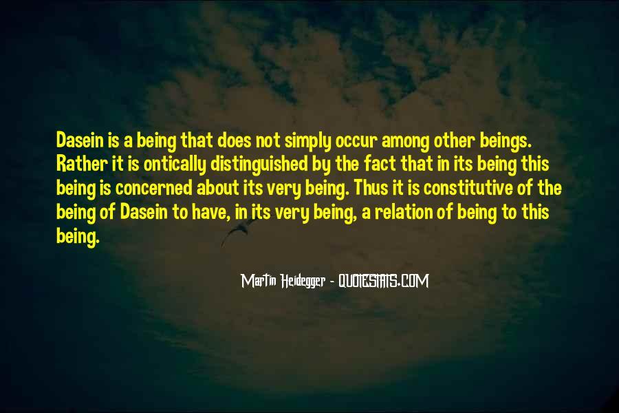 Martin Heidegger Quotes #81805